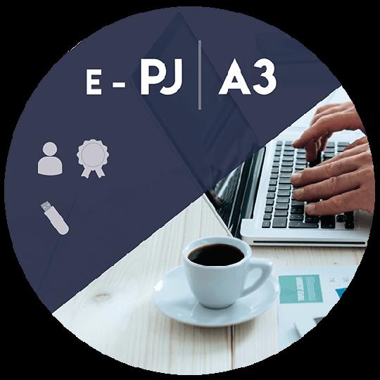 Certificado Digital para Pessoa Jurídica A3 em token (e-PJ A3)